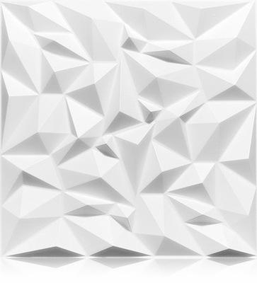 Kasetony Ścienne Panele 3D AMETYST jak BETON