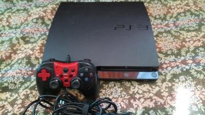 PS3 slim 160 GB przerobiona HFW 4.88 /CFW-HEN