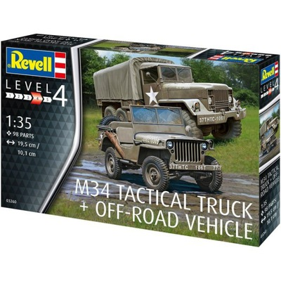 Model do sklejania Revell M34 Tactical Truck Off-R