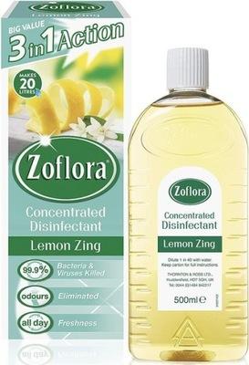 Zoflora 3w1 Środek Dezynfekujący Lemon Zing 500ml