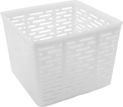 Forma serowarska kwadratowa 11x11x8,5cm na 500g