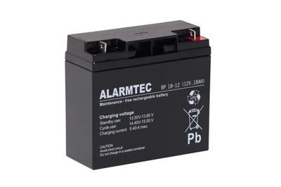 Akumulator AGM ALARMTEC BP 18-12 (12V 18Ah)