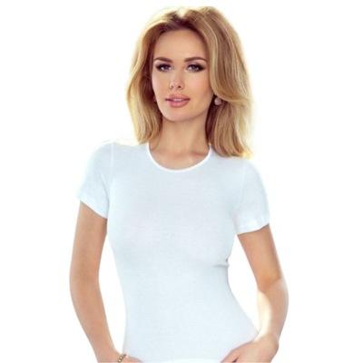 Koszulka Top Klasyczny Eldar Bawełna Biały XL