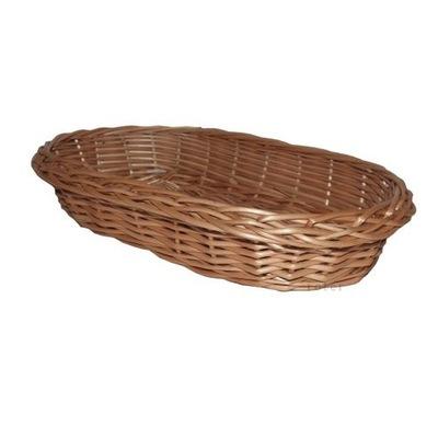 Kosz wiklinowy polski na pieczywo chleb g572 tacka