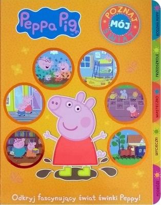 Świnka Peppa Poznaj mój świat - całokartonowa - KD