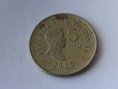 [0172] Филиппины 5 писо 2005 года.  . 3