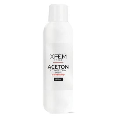 Aceton Kosmetyczny Truskawka XFEM Remover - 1000ml