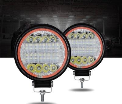 ZESTAW 2 X HALOGEN ФАРА ROBOCZA LED - 72W 12-30V