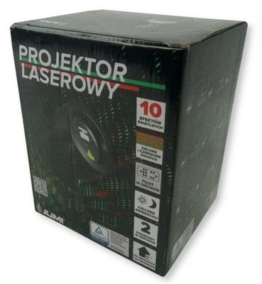 Laserový projektor Dataprojektor laser 10 účinky Jumi 34878