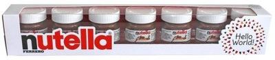 Nutella Hello World Упаковка подарочные коробки 7x30 ?
