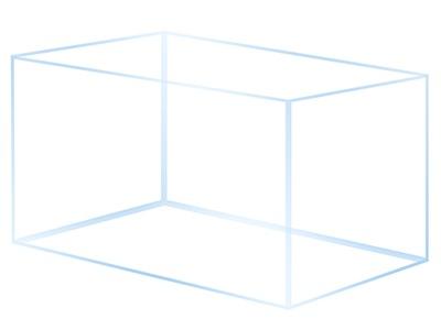 аквариум OptiWhite 60x30x35 - 63л
