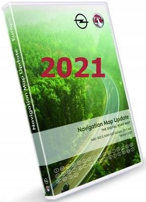 NAJNOWSZA KARTA MAPA OPEL NAVI 600 900 2021 GDAŃSK