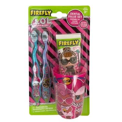 LOL Suprise Firefly zestaw do zębów dla dzieci UK