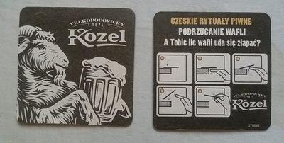 стенд пиво - КОЗЕЛ: Черный