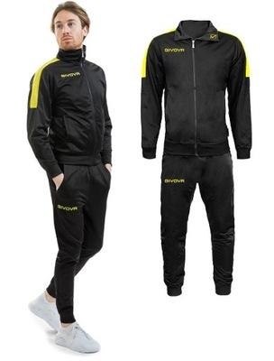 Dres sportowy GIVOVA REVOLUTION back/yellow XL