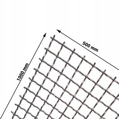 Oka pletená kwasówka 316L 15 mm pletivo, drôt 2 mm