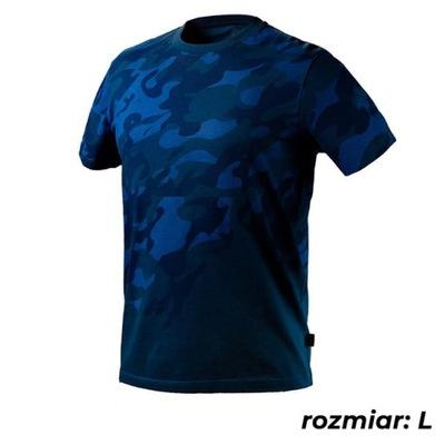 T-shirt roboczy CAMO NAVY, rozmiar L