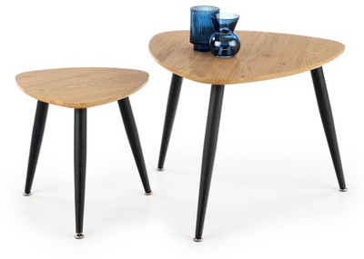 Stół ława do biura salonu komplet stolików 2 szt