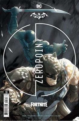 BATMAN FORTNITE ZERO POINT #3 2nd ptg + kod do gry