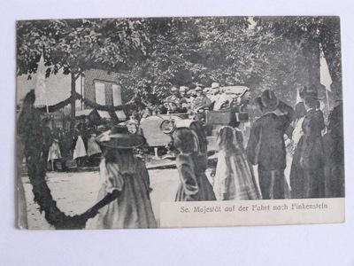 Kamieniec k. Ostróda Finkenstein automobil 1913