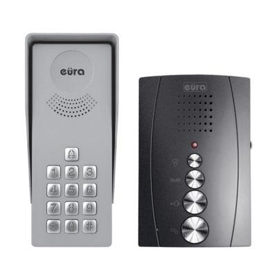 Domofon głośnomówiący Eura z szyfratorem ADP-38A3