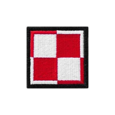 E07 Naszywka SZACHOWNICA LOTNICZA 50x50 mundur