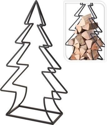 atramArt stojan na palivové drevo, vianočný stromček 91 cm
