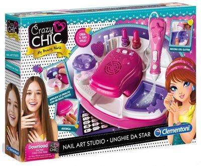 Clementoni 78257 Crazy Chic Studio Paznokci