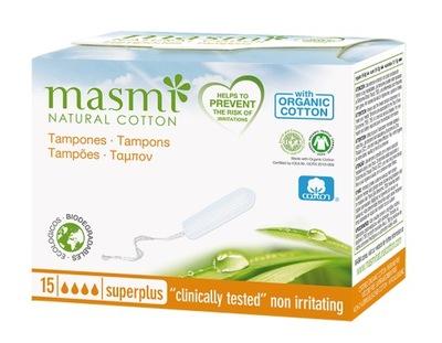 MASMI Tampony bez aplikatora SUPER PLUS 15 szt