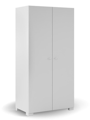 Szafa młodzieżowa biała 100cm