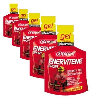 Enervit pakiet 10 sztuk żeli Enervitene BCAA