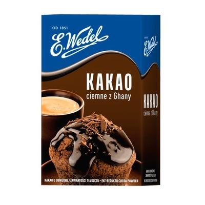 Какао темный 180 г Ведель