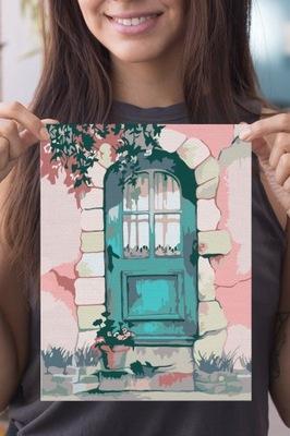 Stare Miasto Obraz do Malowania Prezent 20x30