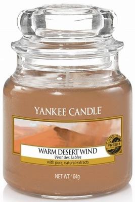Yankee Candle свеча маленькая DESERT WARM WIND 104g