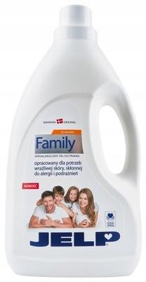JELP Family Hipoalergiczy żel do prania kolorów 2l