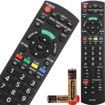 PILOT DO TV TELEWIZORA PANASONIC VIERA UNIWERSALNY