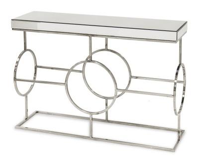 Консоль зеркальная гламур современная modern столик