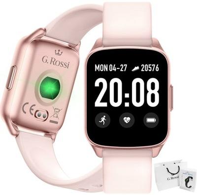 SMARTWATCH zegarek GINO ROSSI SMS KROKI FB PULS