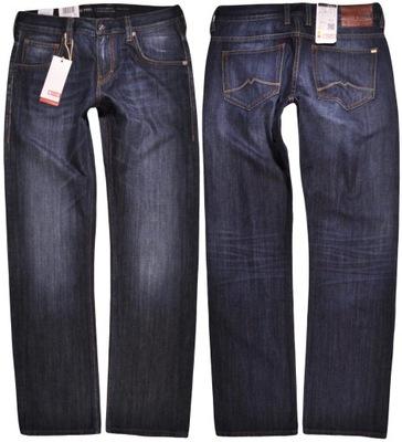 MUSTANG spodnie BLUE 539 straight EL PASO W32 L34