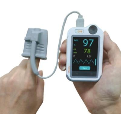 Viatom Checkme Pro Holter Monitor Domowe Ekg 7500157113 Oficjalne Archiwum Allegro