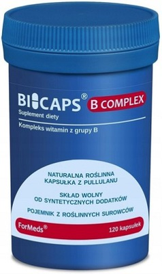 ForMeds BICAPS WITAMINA B COMPLEX 120 cap KOMPLEKS
