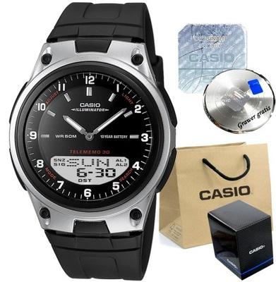 CASIO zegarek PREZENT NA KOMUNIĘ dla chłopca + BOX