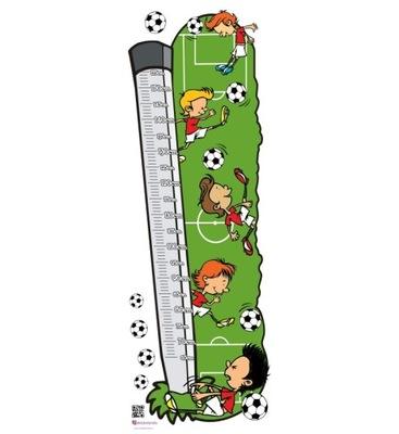 наклейка мерка Рост - Футболисты ??? Мяч