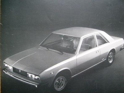 FIAT 130 КУПЕ 3200 / 1972 БОЛЬШОЙ FORMAT-BIALY KRUK