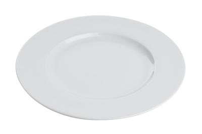 KAROLINA AMELIA BIAŁA Talerz płytki obiadowy 23 cm