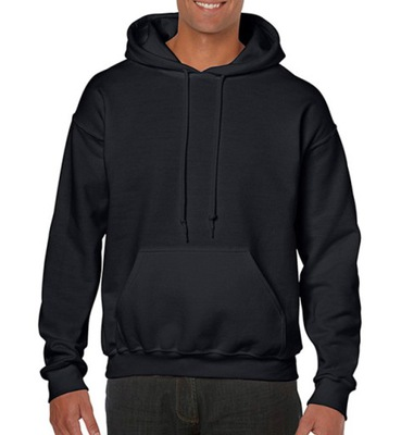 Bluza męska z kapturem i kieszeniami Gildan M