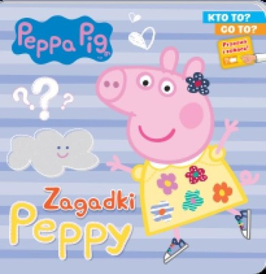 Świnka Peppa Pig Zagadki Peppy cz1 Kto to? Co to?