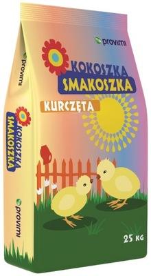 KOKOSZKA SMAKOSZKA КУР 2 корм для кур-несушек, 25кг