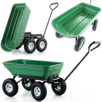 Тачка коляска садовый грузовой самосвал 350 кг