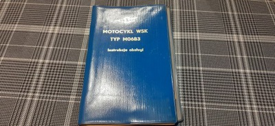 WSK M06B3 GIL ИНСТРУКЦИЯ КНИЖКА 1975 PL КОМПЛЕКТ